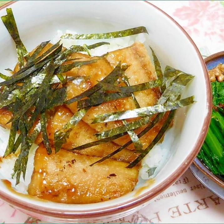 サンマの蒲焼丼