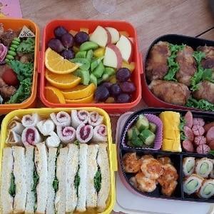 ♪簡単♪運動会のお弁当♪