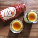 低糖質なキャラメルソースプリン