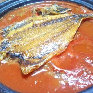 ホッケのトマトジュース煮