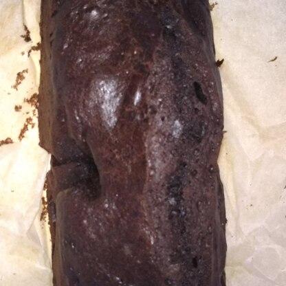 練習用に…(つまりは自分用に)とクリスマス前に作ってみました!ココアが濃くて美味しかったです。シンプルなケーキなので、お洒落に飾るのが楽しくなりますね!