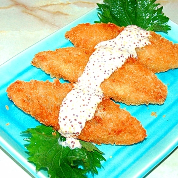 アレンジ フライ 白身 魚