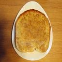 ごまとグラニュー糖のバタートースト