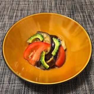 茄子とトマトの簡単さっぱりマリネ!
