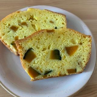 HMでゴロゴロかぼちゃのパウンドケーキ
