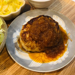 ハンバーグ〜お肉は豚ひき肉のみ〜