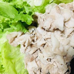 冷凍肉で簡単に冷しゃぶ