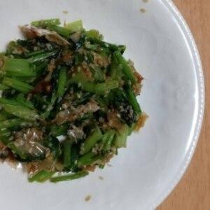 蕪の葉でご飯のお供◆常備菜