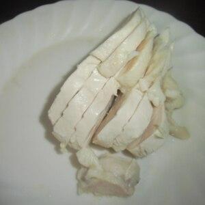 塩麹ゆで鶏 ★ 色々なメニューに応用できて便利!