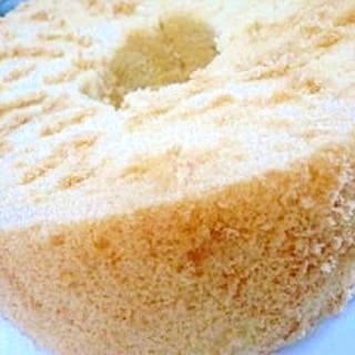 ノンオイル☆米粉のシフォンケーキ
