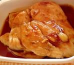 鶏むね肉のマーマレード照り焼き