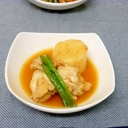 手羽元と長芋のキムチ風味煮