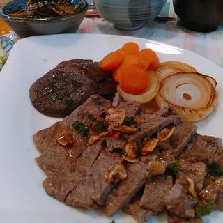 OGビーフが和牛みたい♪ステーキの焼き方&ソース