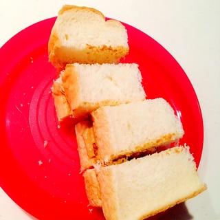幼児食☆きな粉クリームのパン