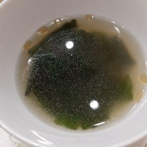 簡単♪ウェイパーだけで☆わかめスープ