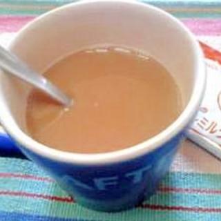 ミルクティーをもっと美味しく☆きなこミルクティー♪