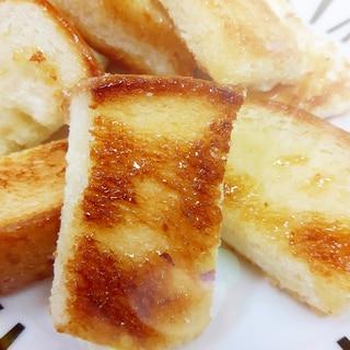 食パンで(^^)子供が大好き簡単シュガーラスク♪
