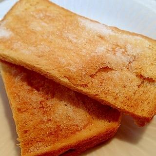 簡単 ❤乾燥焼きでカリカリ食パンラスク❤