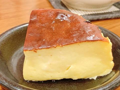 <材料5つ>中とろ~り!超簡単バスクチーズケーキ