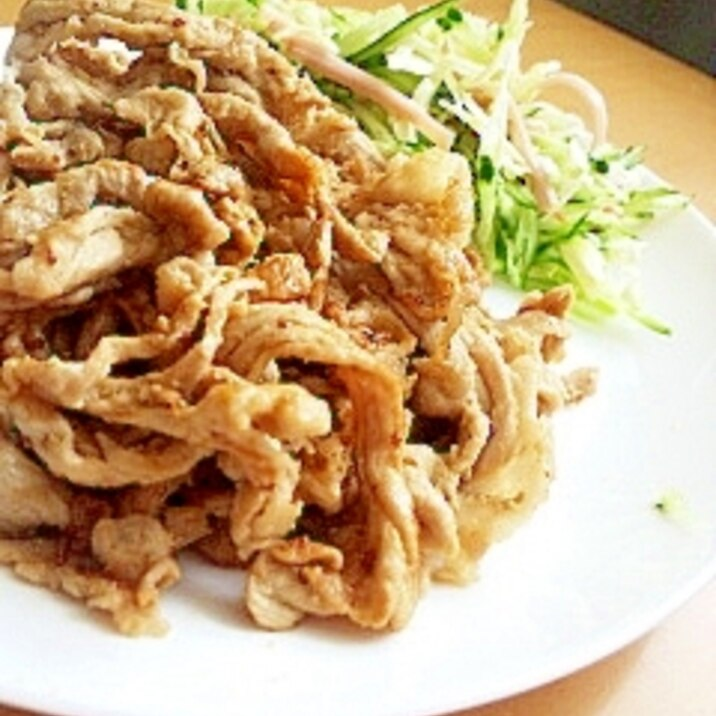 豚肉のマヨマスタード焼き