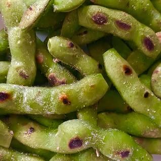 香ばしい!焼き枝豆