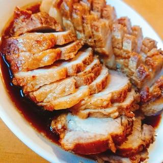 圧力鍋で手作り煮豚