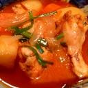 タットリタン(手羽元の辛いスープ)