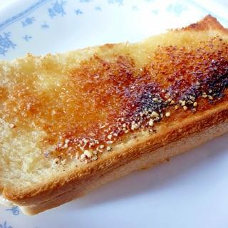 ☆カリカリジュワ~♪ 粉チーズ蜂蜜のトースト☆