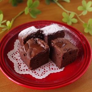 バレンタインの簡単チョコレートブラウニー