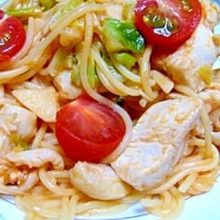 塩麹は洗う?鶏胸肉とキャベツのトマトパスタ