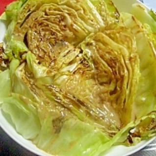 キャベツステーキ☆わさびマヨソース
