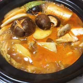キムチ鍋 変わり種