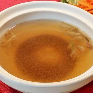 ♪我が家の鍋つゆ♡味覇で中華風♪