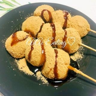 ♡豆腐でもっちりヘルシー♪手作りきな粉団子♡