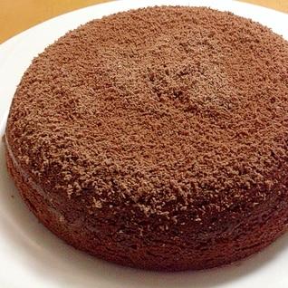 簡単・低予算☆炊飯器でチョコレートケーキ