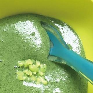 【離乳食9~11ヶ月】枝豆のトロトロ豆乳ポタージュ