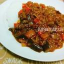 簡単☆夏野菜☆とろける~ナスと挽き肉のキーマカレー