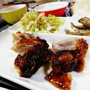 ★鶏ムネ肉の柔らか甘辛チキン★