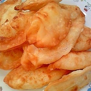 山芋とシーチキンの揚げ餃子♪