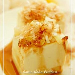 ★冷奴★ネギ・鰹節乗せ豆腐♪