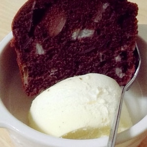 マーガリンでもおいしいチョコバナナのパウンドケーキ
