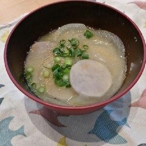 もっちり里芋のお味噌汁