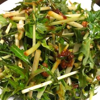 焼肉におすすめ☆水菜のコチュジャンサラダ