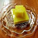 ●鰹節出汁殻リメイク♪あっさり薩摩芋ホエー寒天寄せ