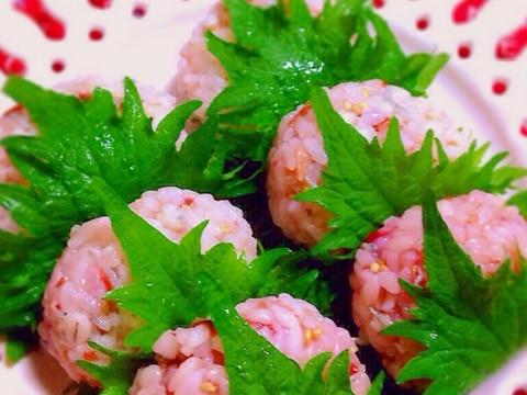 桜餅おむすび