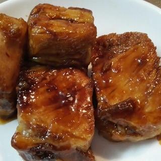 豚ロースの塊で作る豚の角煮