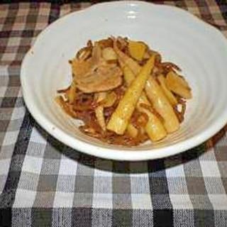 姫竹の豚肉炒め