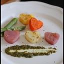 バレンタインに❤ハートのカラフルグリル野菜❤