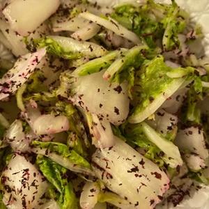 30秒で出来ちゃう!白菜ときゅうりのゆかり和え
