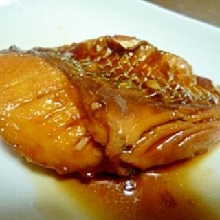チヌ(クロダイ)の煮付け